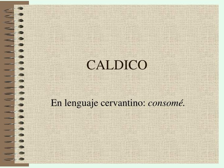CALDICO