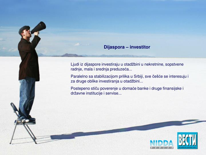 Dijaspora – investitor