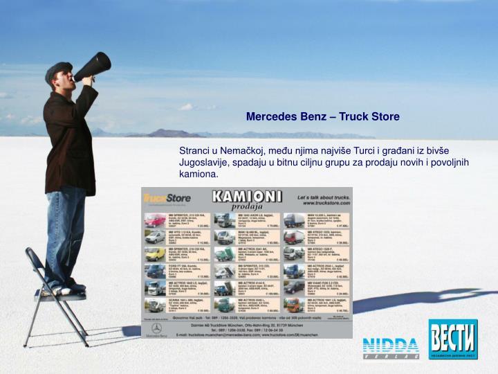 Mercedes Benz – Truck Store
