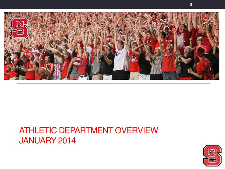 Athletic Department Overview