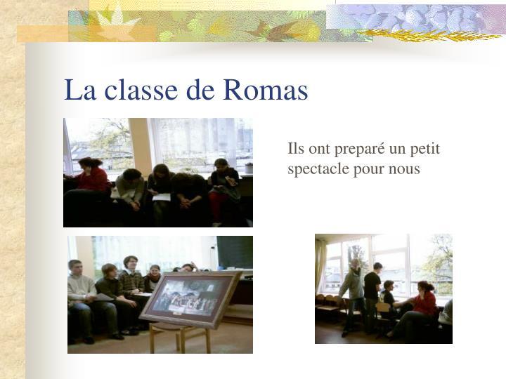 La classe de Romas