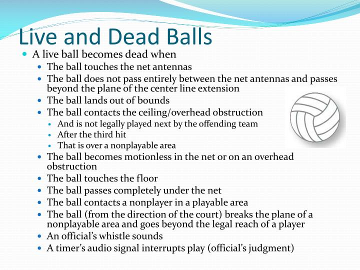 Live and Dead Balls