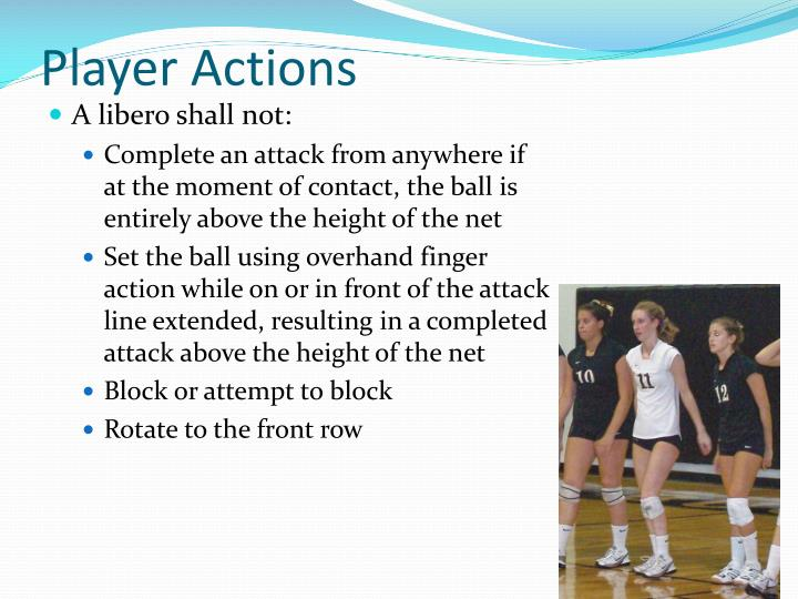 Player Actions