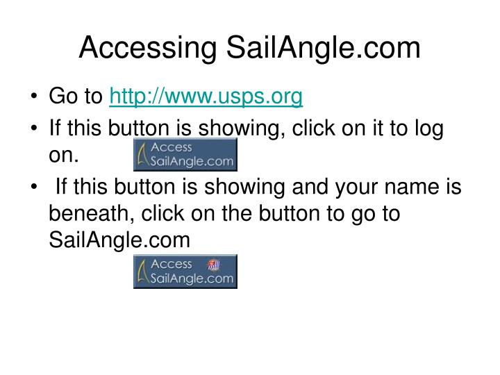 Accessing sailangle com