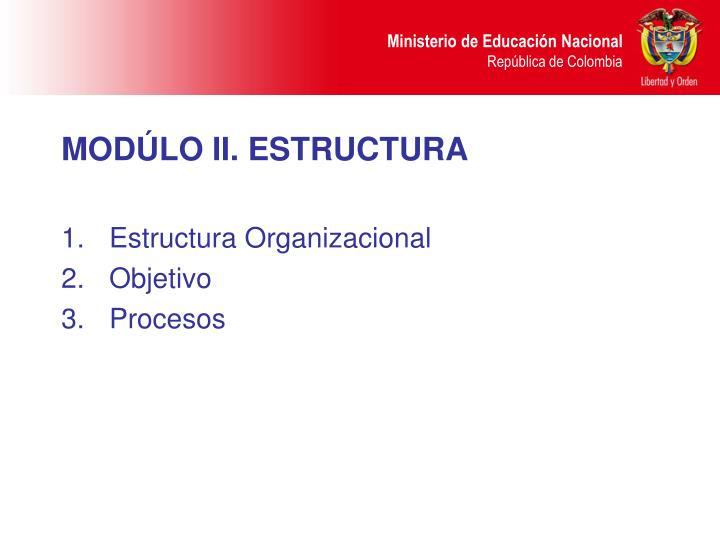 MODÚLO II. E