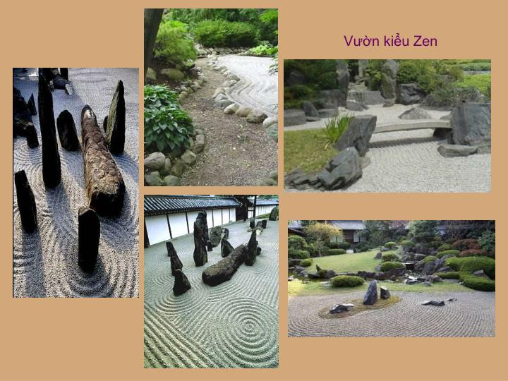 Vườn kiểu Zen