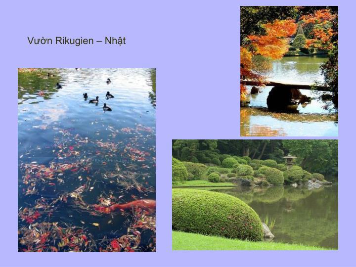 Vườn Rikugien – Nhật