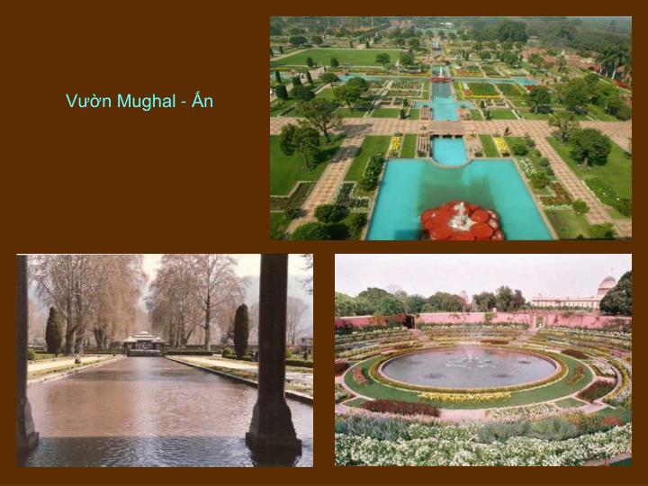 Vườn Mughal - Ấn