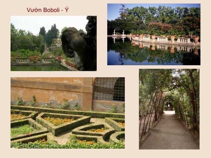 Vườn Boboli - Ý