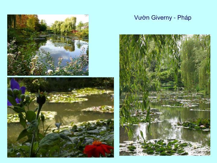 Vườn Giverny - Pháp