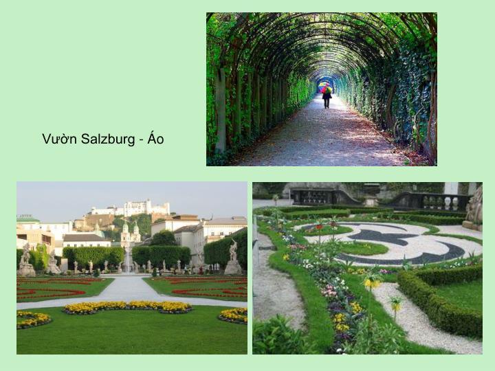 Vườn Salzburg - Áo
