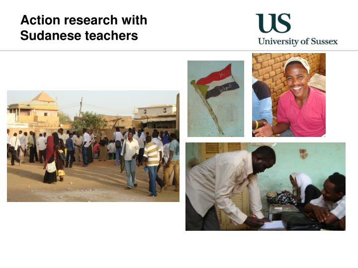 Action research with  Sudanese teachers