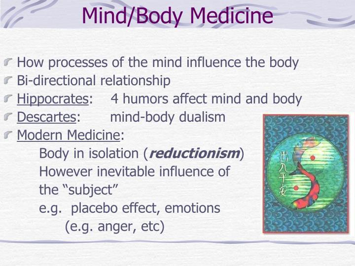 Mind/Body Medicine