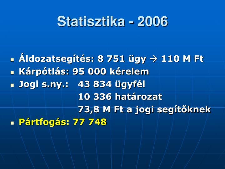 Statisztika - 2006