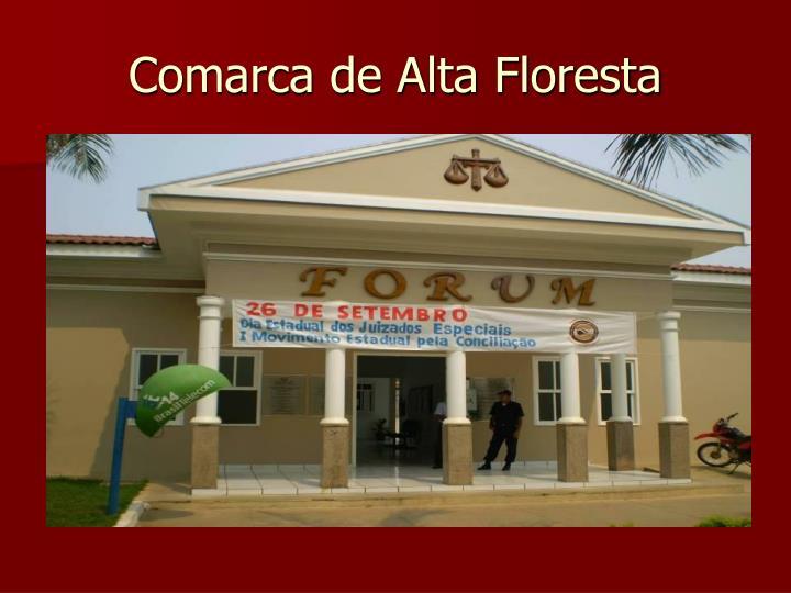 Comarca de Alta Floresta