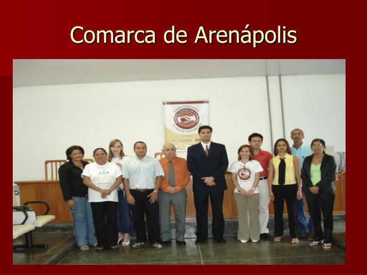Comarca de Arenápolis
