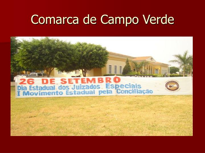 Comarca de Campo Verde