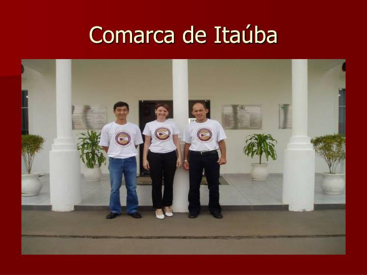 Comarca de Itaúba