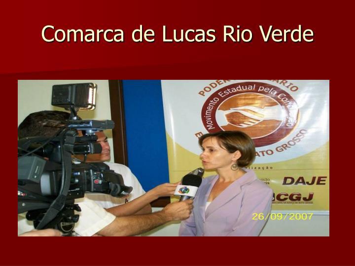 Comarca de Lucas Rio Verde