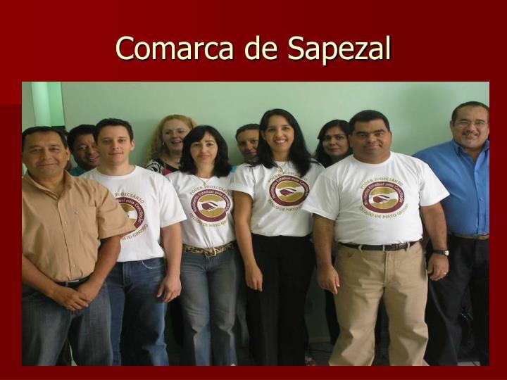 Comarca de Sapezal