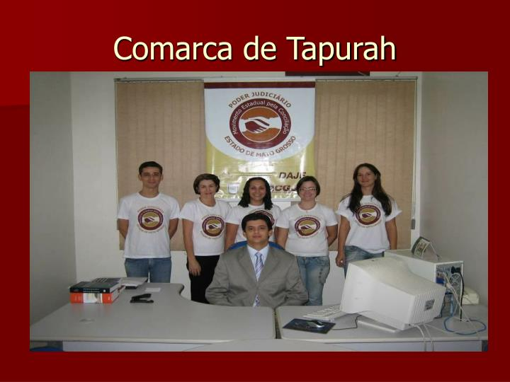 Comarca de Tapurah