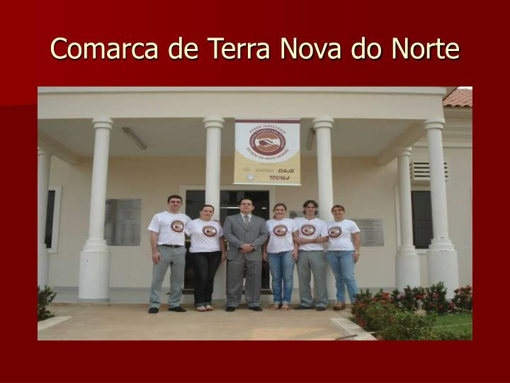 Comarca de Terra Nova do Norte