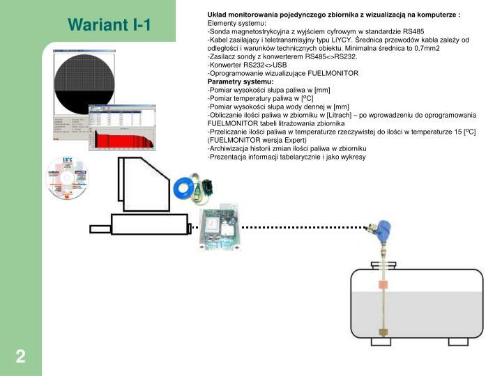 Wariant I-1