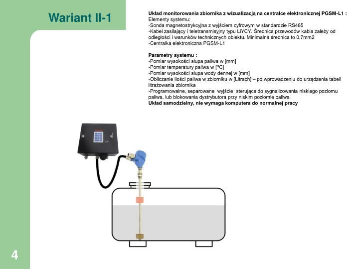 Wariant II-1