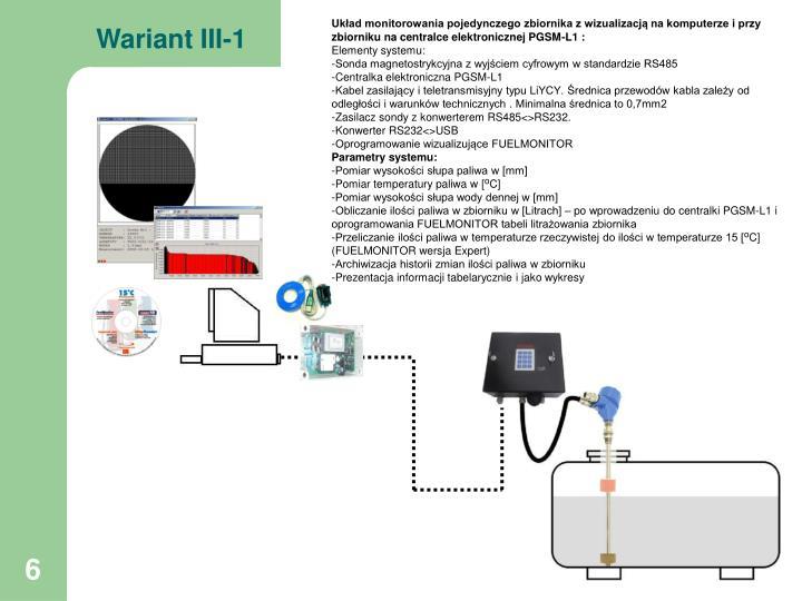 Wariant III-1