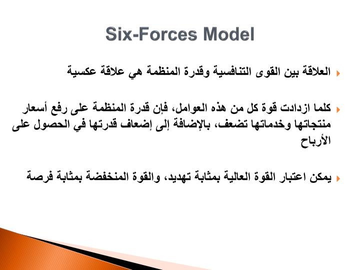 Six-Forces Model