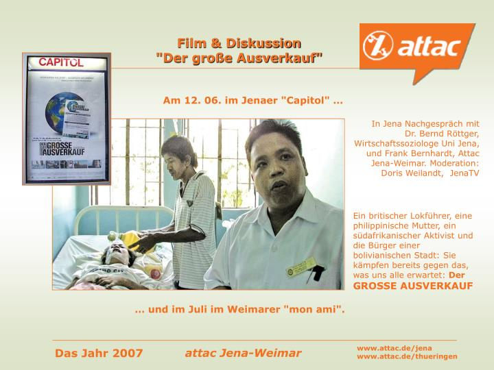 Film & Diskussion
