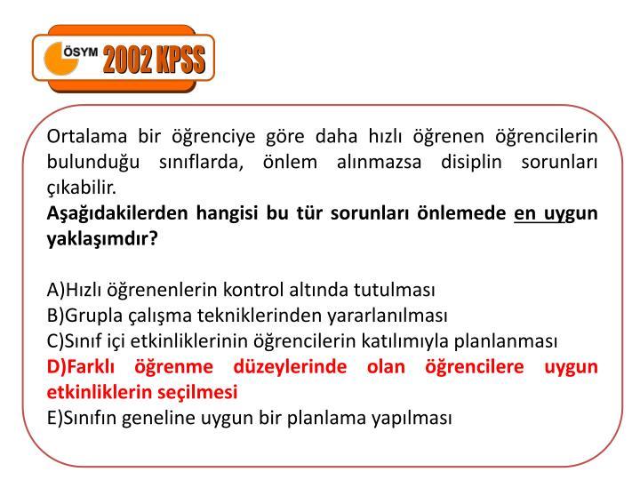 2002 KPSS
