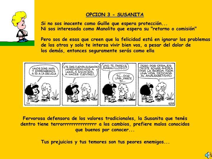 OPCION3 - SUSANITA