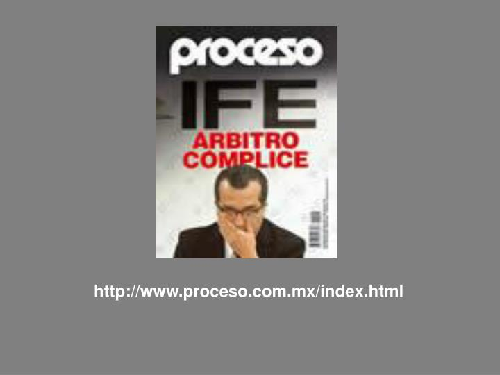 http://www.proceso.com.mx/index.html