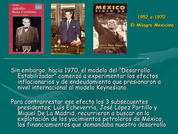 1952 a 1970