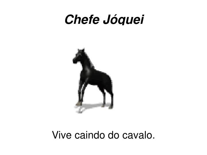 Chefe Jóquei