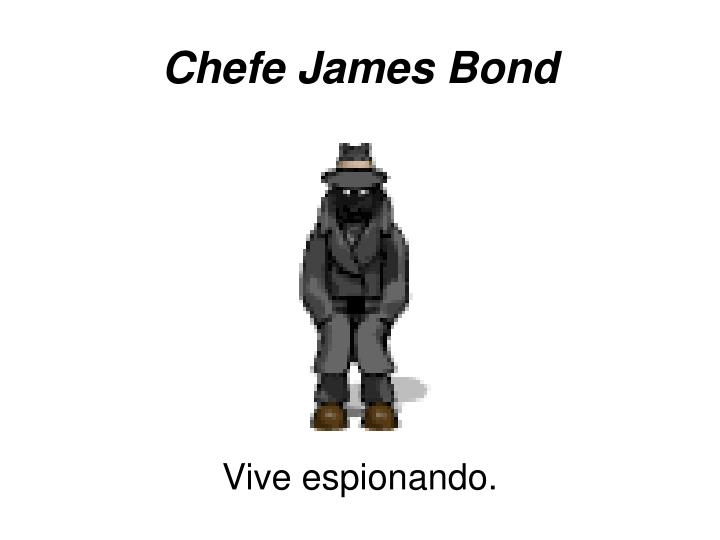 Chefe James Bond