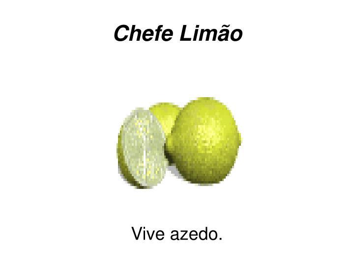 Chefe Limão