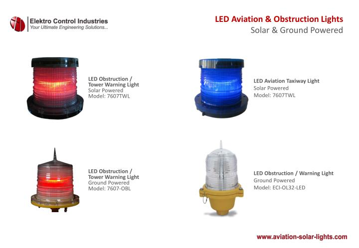 LED Aviation & Obstruction Lights