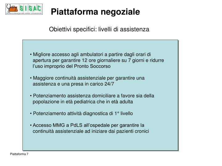 Piattaforma negoziale