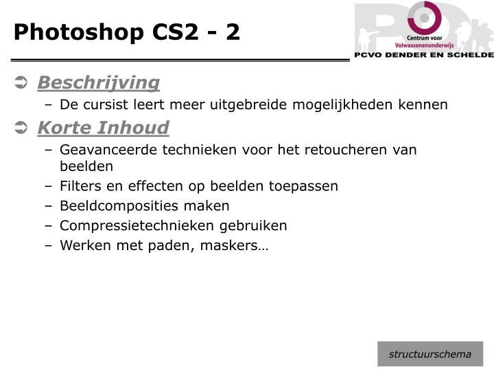 Photoshop CS2 - 2