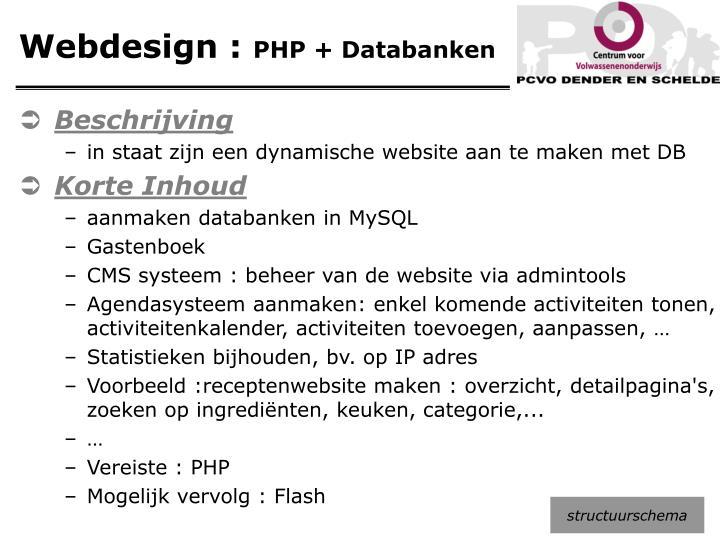 Webdesign :