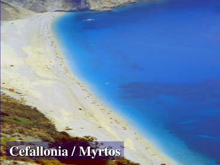 Cefallonia / Myrtos
