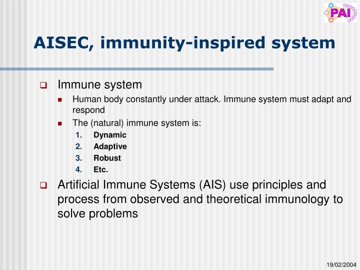 AISEC, immunity-inspired system