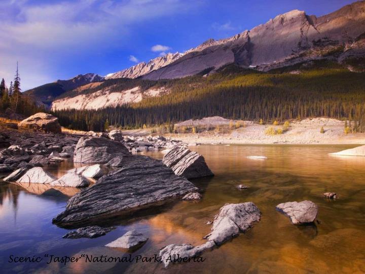 "Scenic ""Jasper""National Park, Alberta"
