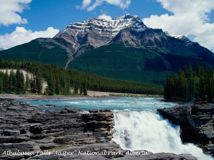"Athabasca Falls ""Jasper"" National Park, Alberta"
