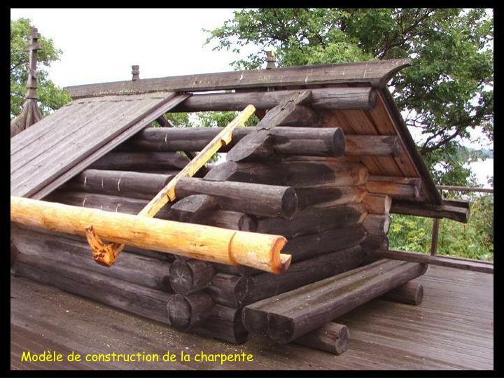Modèle de construction de la charpente