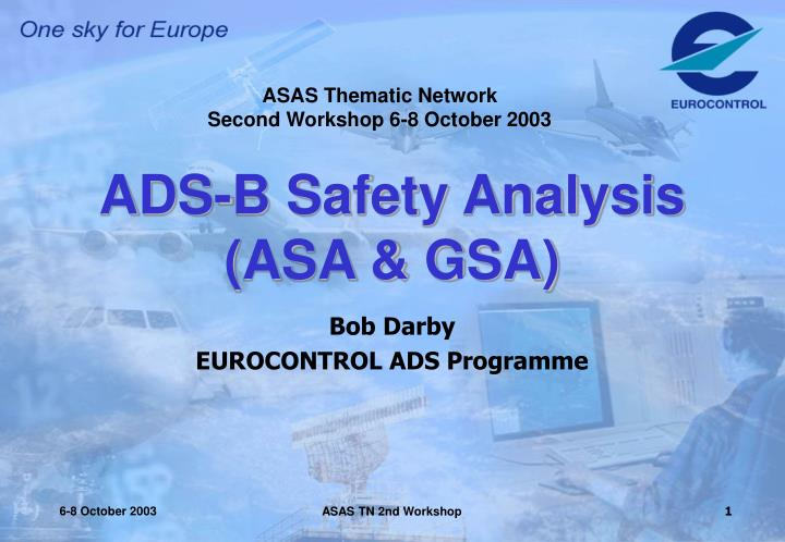 Ads b safety analysis asa gsa
