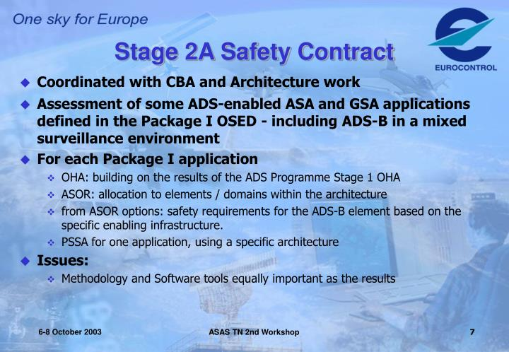 Stage 2A Safety Contract