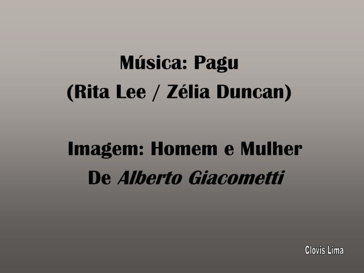 Música: Pagu